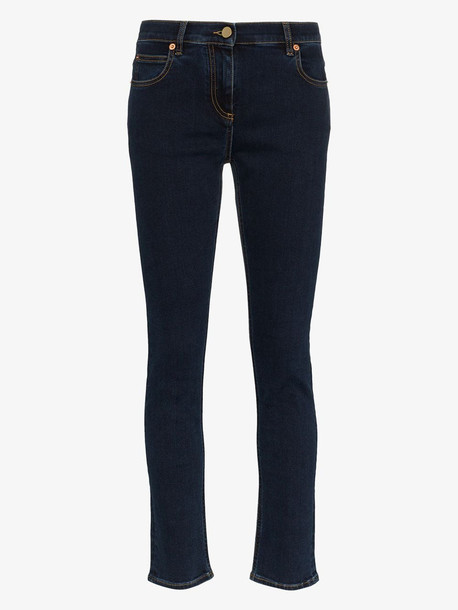 Valentino VGOLD skinny jeans in blue