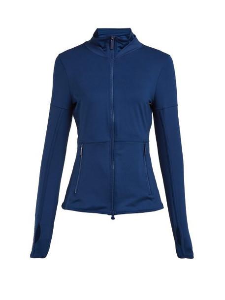 jacket mesh blue