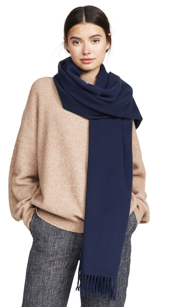 Acne Studios Canada Scarf in navy
