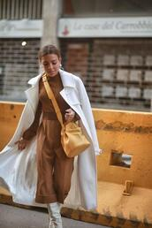 mypeeptoes,blogger,sweater,pants,coat,belt,shoes,jewels,white coat,trench coat,spring outfits