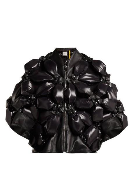 6 Moncler Noir Kei Ninomiya - Flower Padded Jacket - Womens - Black