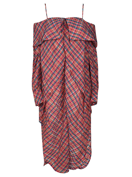 Eckhaus Latta Checked Dress