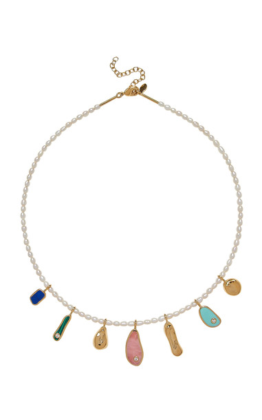Pamela Love Alexander Pearl Beaded Necklace in multi
