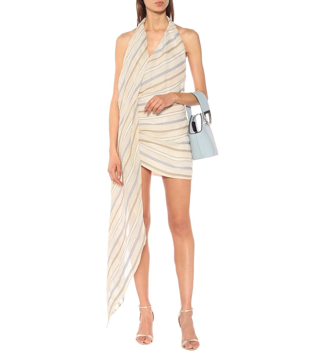 La Robe Spezia striped minidress