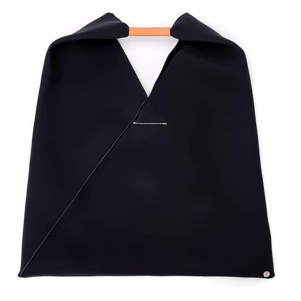 Mm6 Maison Margiela Neoprene Black Shopper Bag