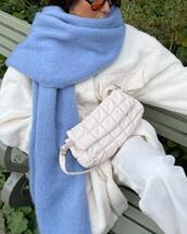 jacket,scarf,bag