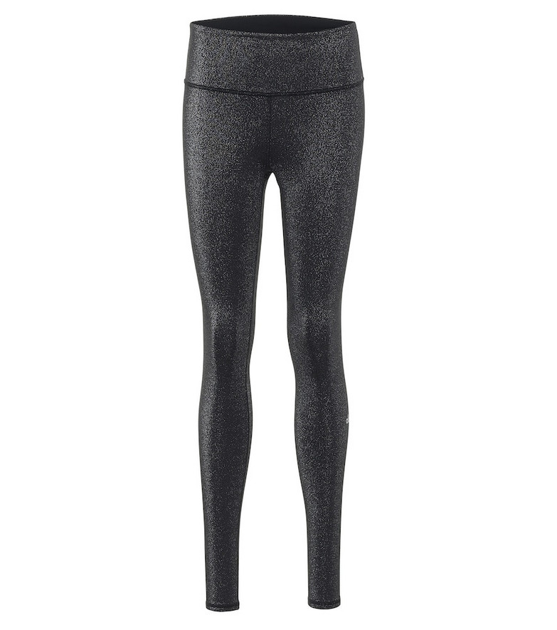 Alo Yoga Glitter high-rise leggings in black