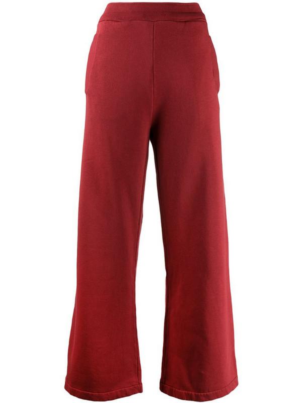 Katharine Hamnett London Vale track pants in red