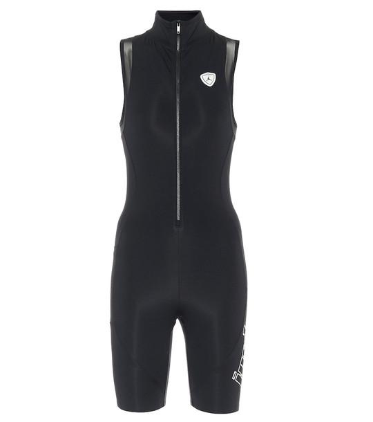 Nike Jordan Moto bodysuit in black
