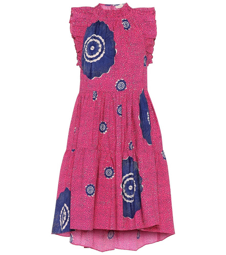 Ulla Johnson Tamsin printed cotton minidress in purple