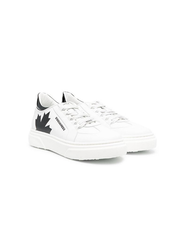 Dsquared2 Kids low-top sneakers in white