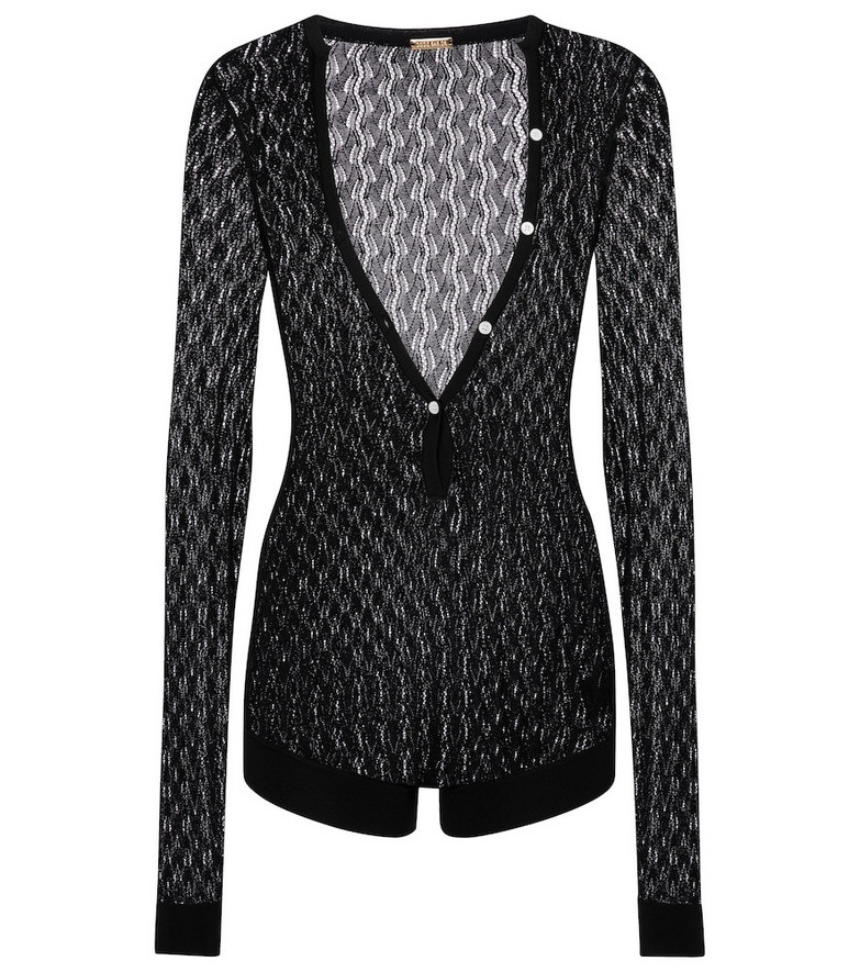Dodo Bar Or Knit playsuit in black
