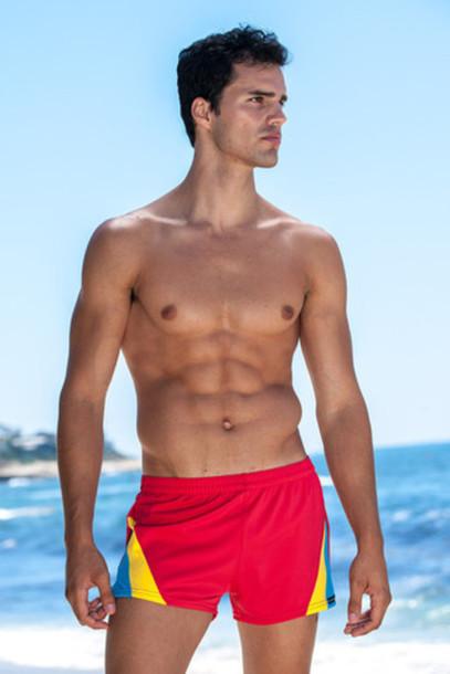 swimwear mens mens swimwear sauvage red bikiniluxe