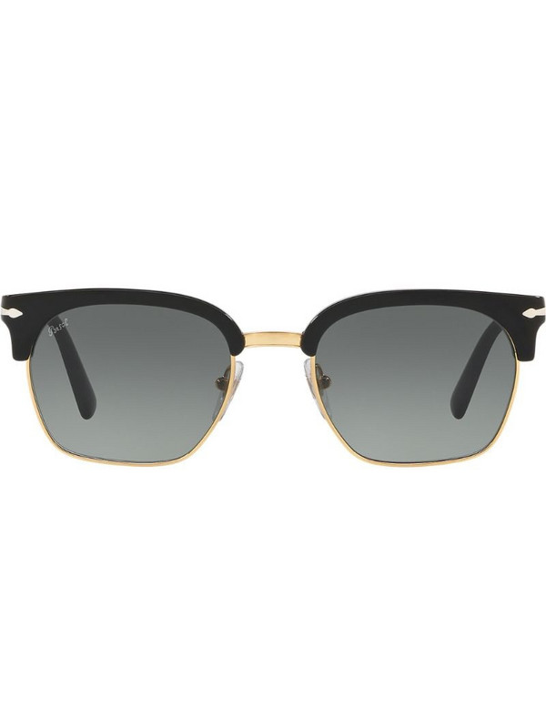 Persol wayfarer square-frame sunglasses in black