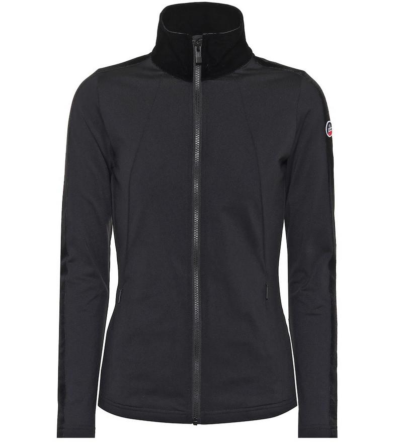 Fusalp Stellaria zipped jacket in black
