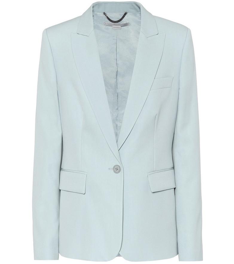Stella McCartney Iris stretch-wool blazer in blue