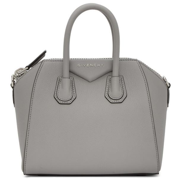 Givenchy Grey Mini Antigona Bag