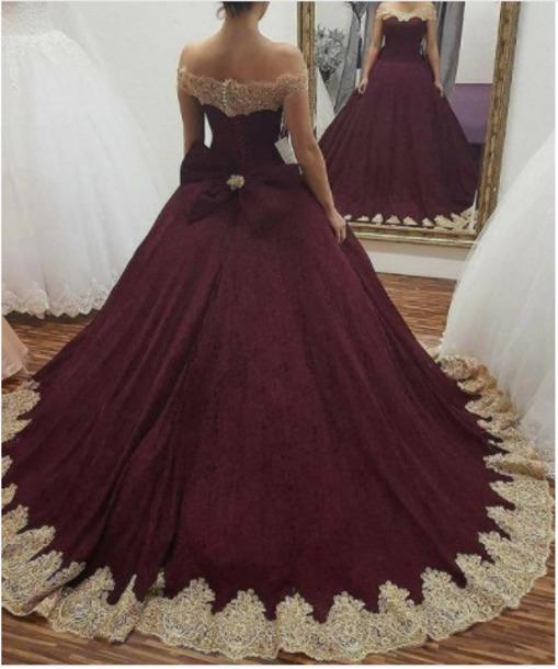 Dress Robe Bordeaux Princess Dress Instagram Dressgoal Robes Wheretoget