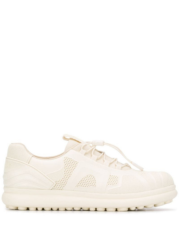 Camper low-top lace-up sneakers in neutrals