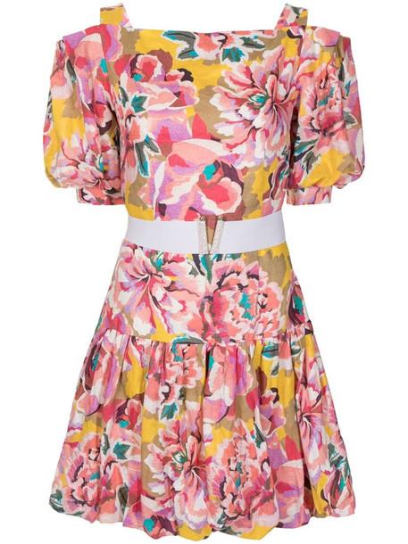 Ginger & Smart Flourish floral-print linen dress