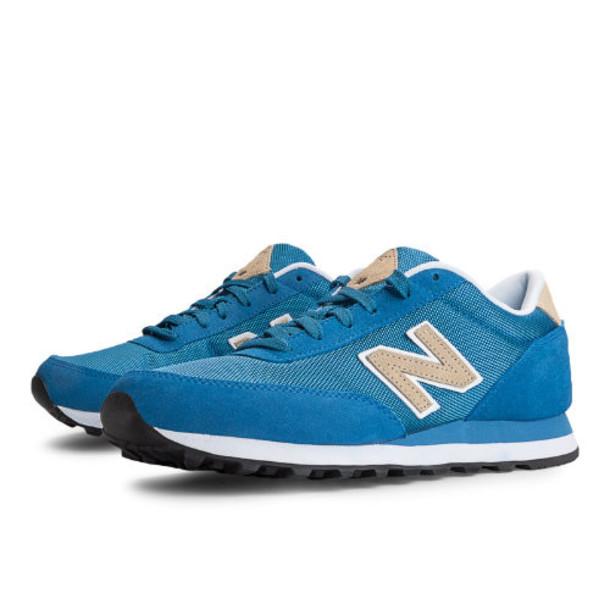 New Balance Backpack 501 Men's Heritage Shoes - Blue, Tan, White (ML501BPU)