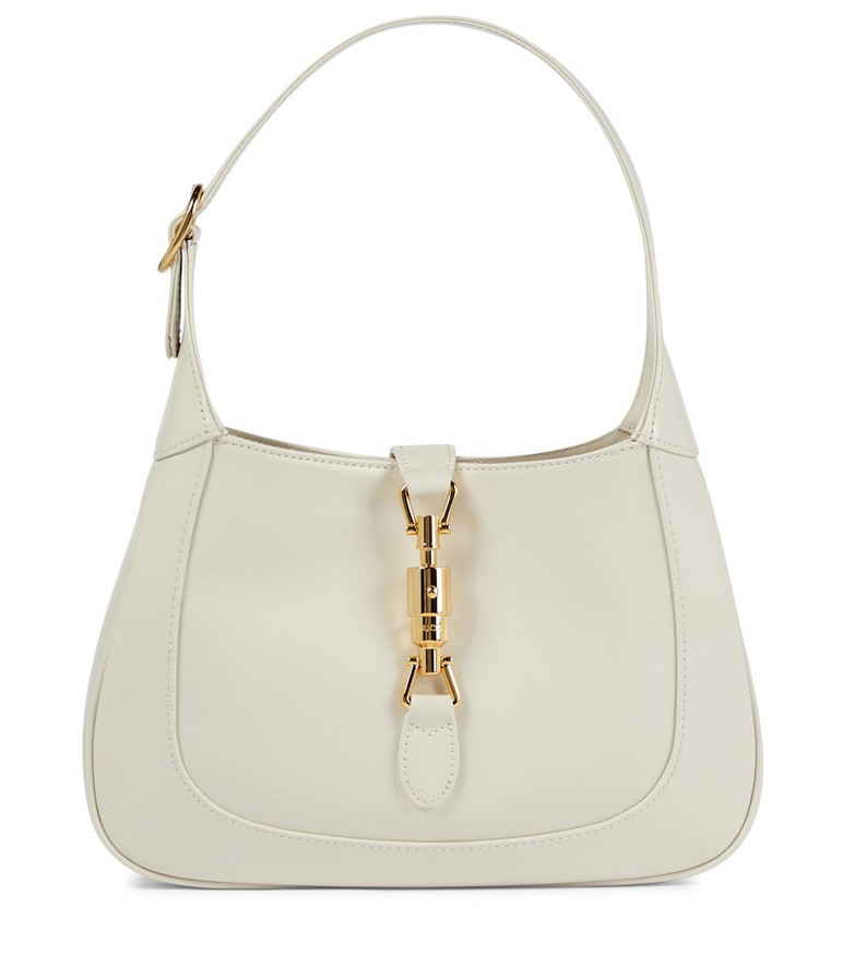 Gucci Jackie 1961 Small leather shoulder bag in white