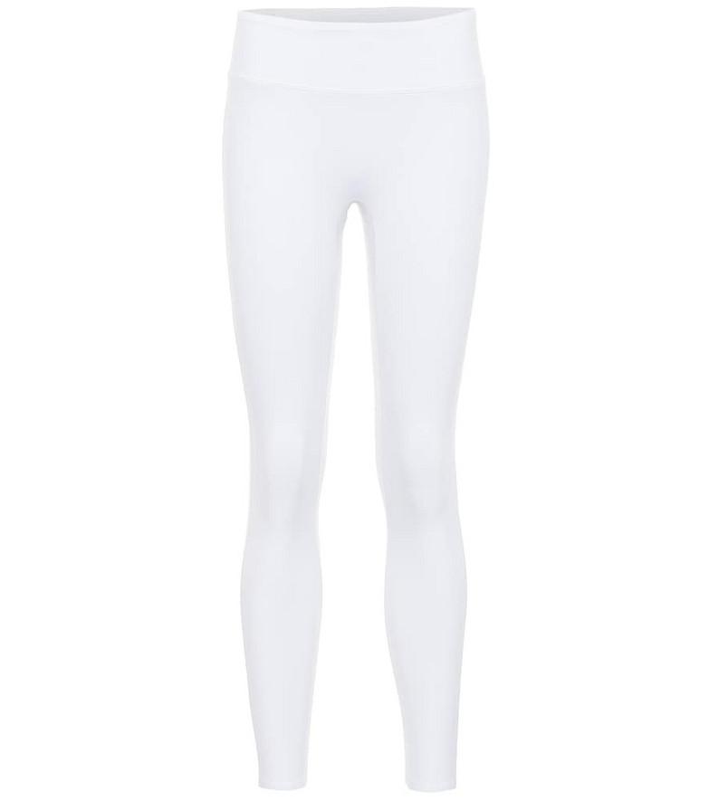 Reebok x Victoria Beckham Classic high-rise cropped leggings in white