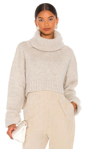 Cult Gaia Cori Sweater in Beige