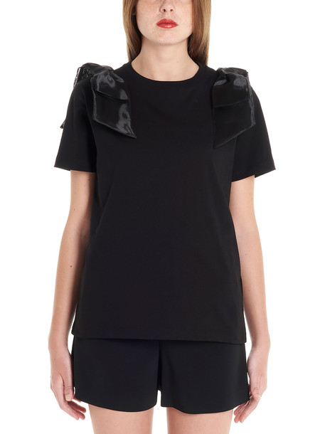 Red Valentino T-shirt in black