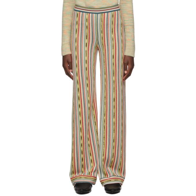 Missoni Multicolor Knit Pull-On Lounge Pants in multi