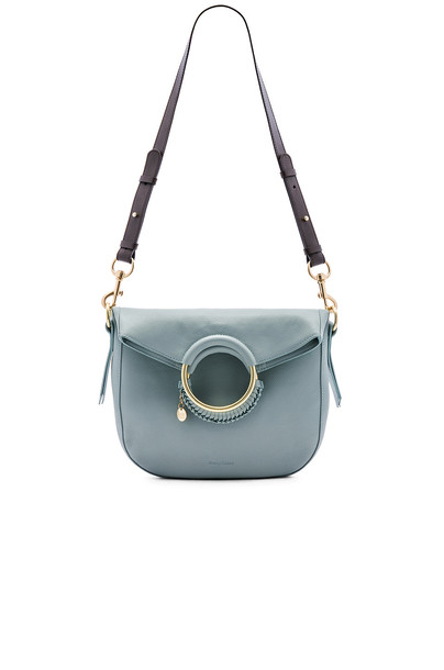 See By Chloe Monroe Medium Bracelet Crossbody in blue