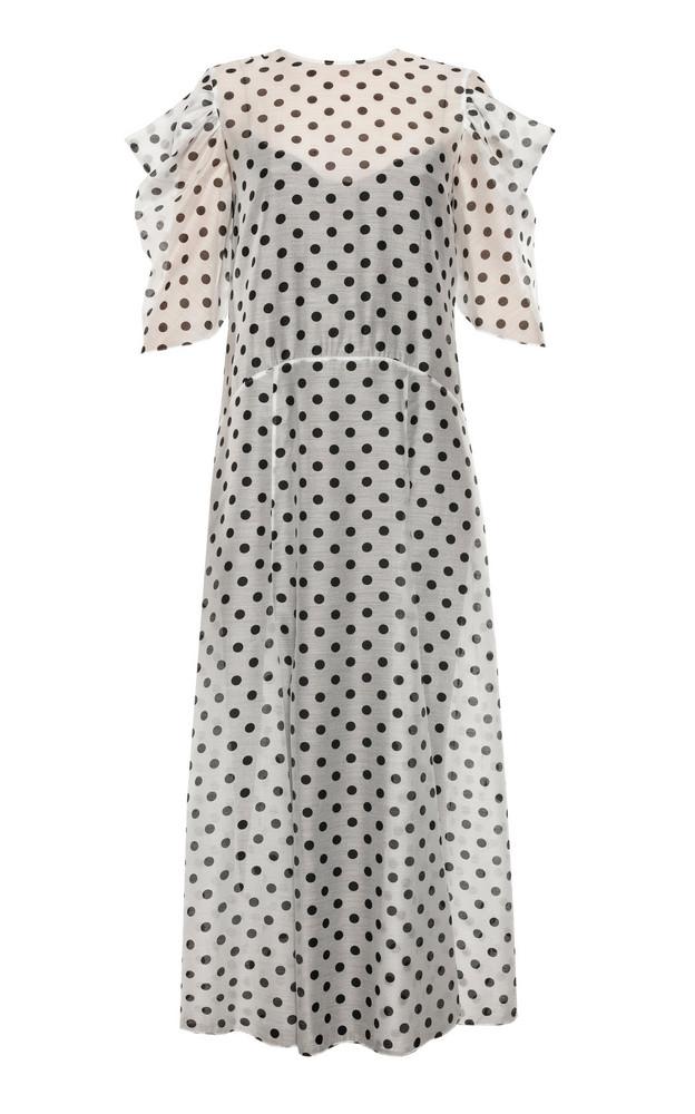Anna October Annas Pleasure Garden Polka Dot Organza Dress Size: XS in print
