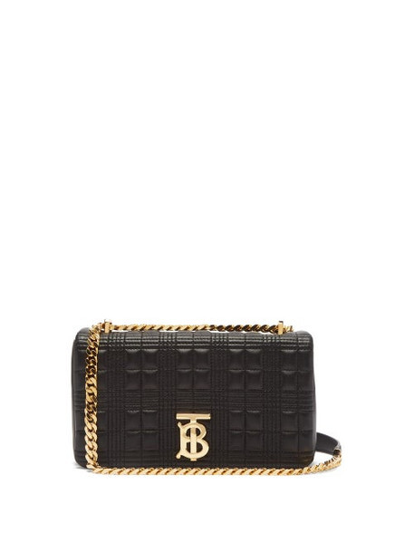 Burberry - Lola Small Quilted Leather Shoulder Bag - Womens - Black