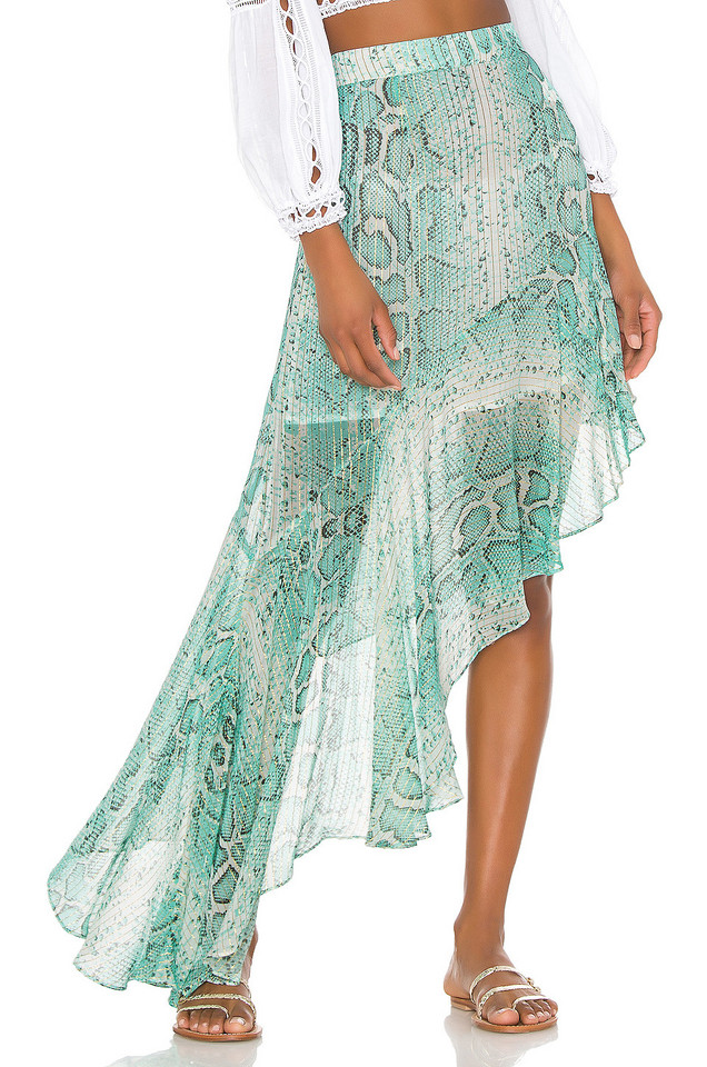 ROCOCO SAND Lexi Skirt in green