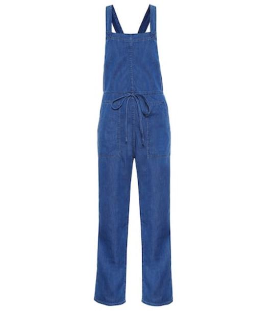 3x1 Crya denim jumpsuit in blue