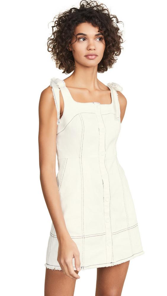 endless rose Moya Dress in white