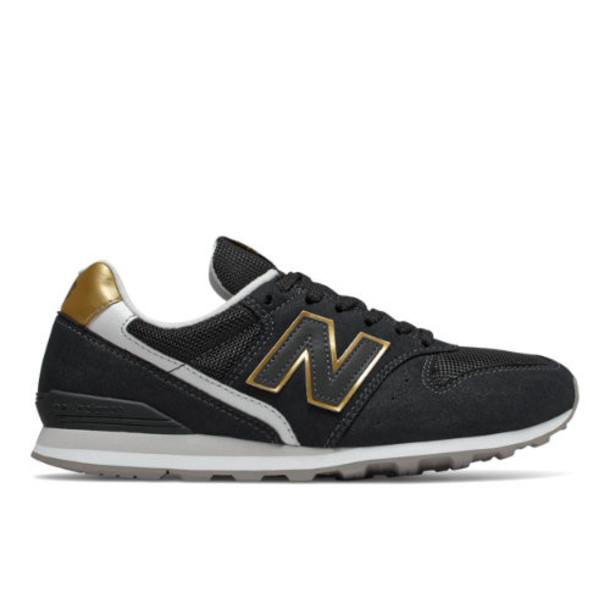 New Balance 996 Women's Shoes - Black/Yellow (WL996CD)