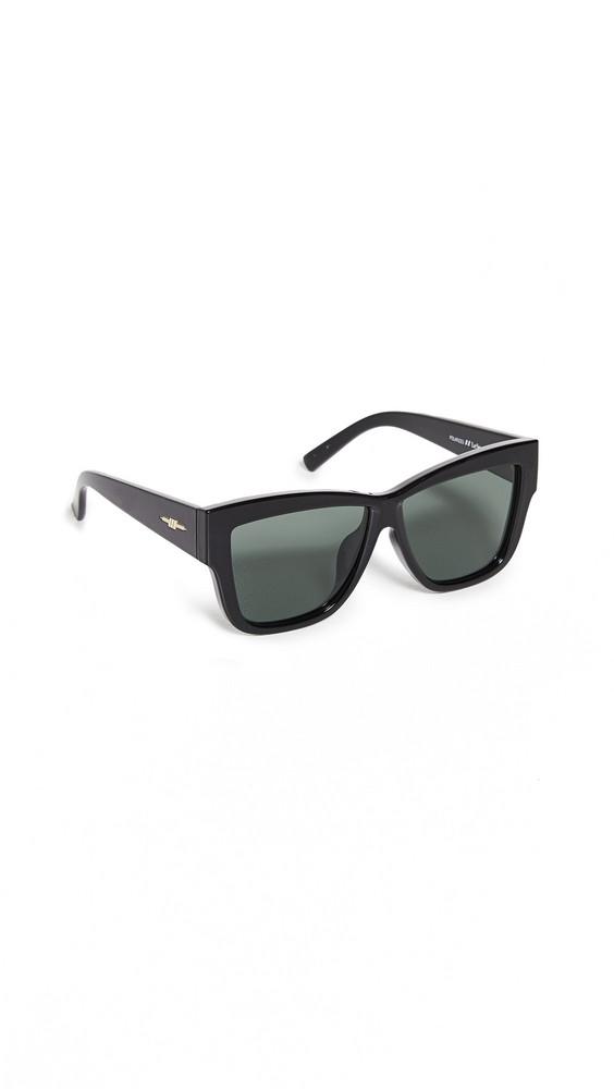 Le Specs Total Eclipse Sunglasses in black