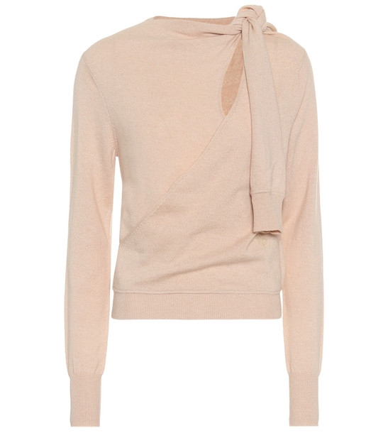 Chloé Cashmere sweater in pink