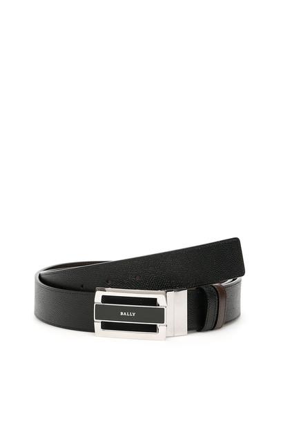 Bally Reversible Fabazia Belt in black