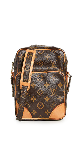 What Goes Around Comes Around LV Monogram Amazone Bag in brown