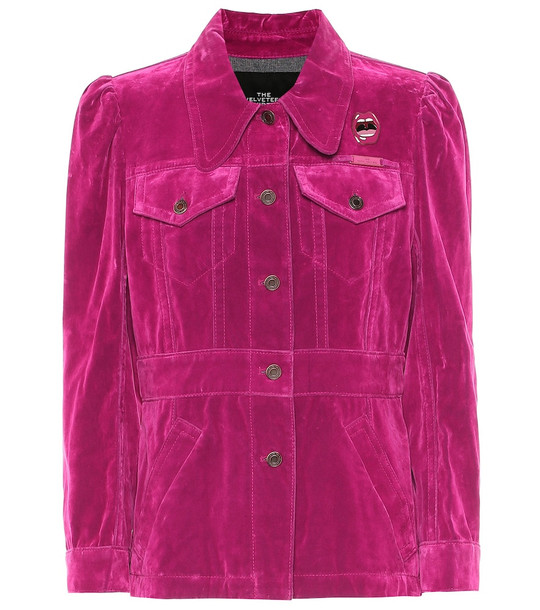 Marc Jacobs Velvet top in pink