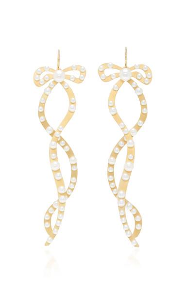 Irene Neuwirth 18K Gold And Pearl Earrings
