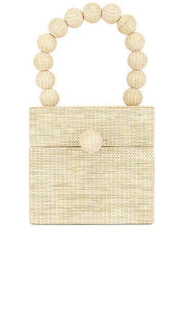 Cult Gaia Eos Box Bag in Cream