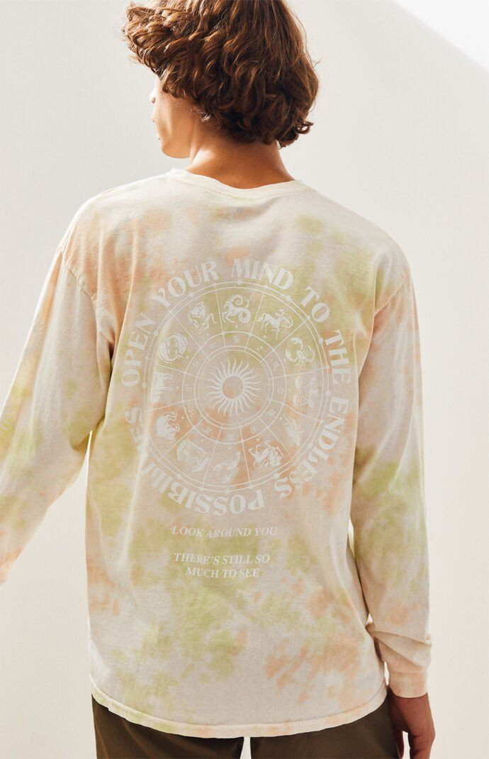 Tie-Dyed Open Your Mind Long Sleeve T-Shirt