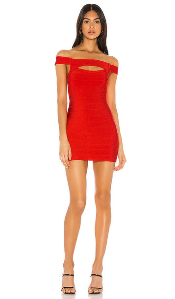 superdown Bethani Cut Out Dress in Red