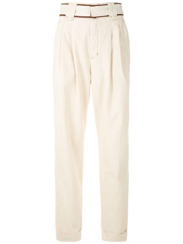 Framed Sierra clochard trousers in neutrals