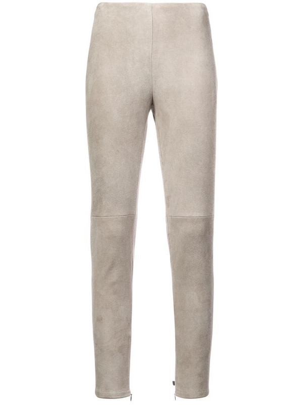 Ralph Lauren Collection slim fit trousers in grey