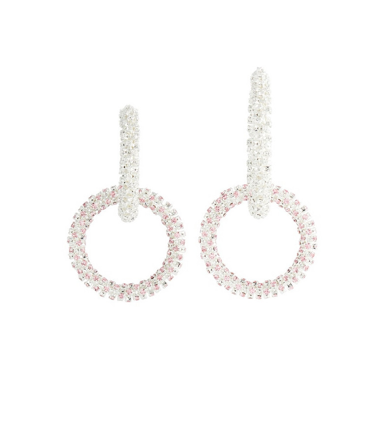 Magda Butrym Crystal-embellished hoop earrings