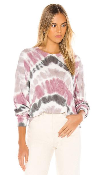 Young, Fabulous & Broke Coraline Sweatshirt in Pink